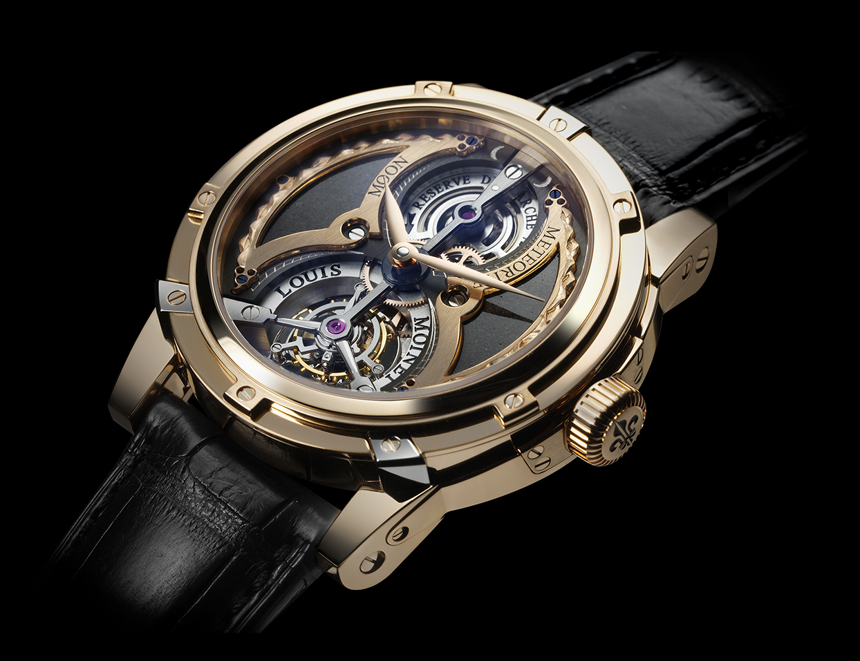 Часы Tourbillon Moon